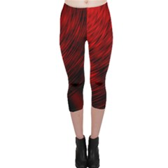 A Large Background With A Burst Design And Lots Of Details Capri Leggings