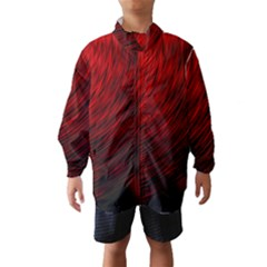 A Large Background With A Burst Design And Lots Of Details Wind Breaker (kids)