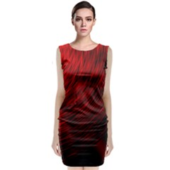 A Large Background With A Burst Design And Lots Of Details Classic Sleeveless Midi Dress