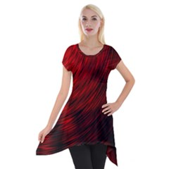 A Large Background With A Burst Design And Lots Of Details Short Sleeve Side Drop Tunic