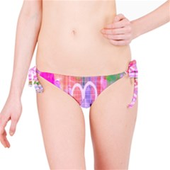 Watercolour Heartbeat Monitor Bikini Bottom