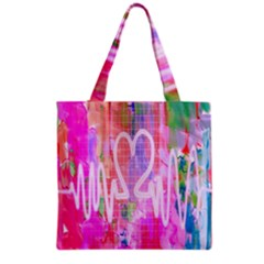 Watercolour Heartbeat Monitor Grocery Tote Bag