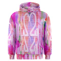 Watercolour Heartbeat Monitor Men s Pullover Hoodie