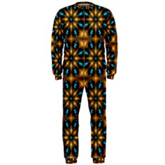 Abstract Daisies OnePiece Jumpsuit (Men)