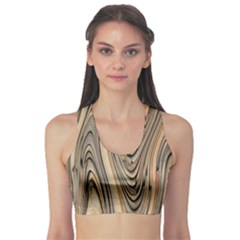 Abstract Background Design Sports Bra