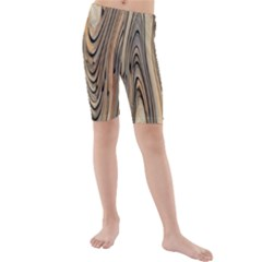 Abstract Background Design Kids  Mid Length Swim Shorts