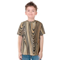 Abstract Background Design Kids  Cotton Tee