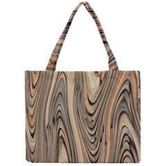 Abstract Background Design Mini Tote Bag