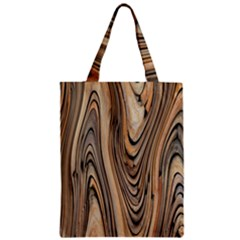 Abstract Background Design Zipper Classic Tote Bag