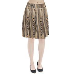 Abstract Background Design Pleated Skirt