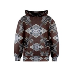 Ladder Against Wall Abstract Alternative Version Kids  Pullover Hoodie