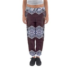 Ladder Against Wall Abstract Alternative Version Women s Jogger Sweatpants