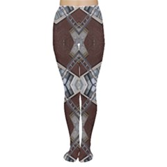 Ladder Against Wall Abstract Alternative Version Women s Tights