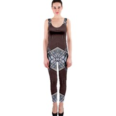 Ladder Against Wall Abstract Alternative Version OnePiece Catsuit
