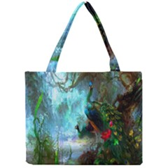 Beautiful Peacock Colorful Mini Tote Bag