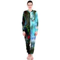 Beautiful Peacock Colorful OnePiece Jumpsuit (Ladies)