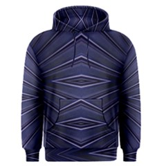 Blue Metal Abstract Alternative Version Men s Pullover Hoodie