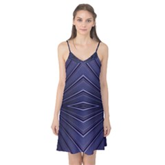 Blue Metal Abstract Alternative Version Camis Nightgown