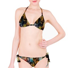 Fabric Weave Bikini Set