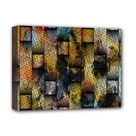 Fabric Weave Deluxe Canvas 16  x 12