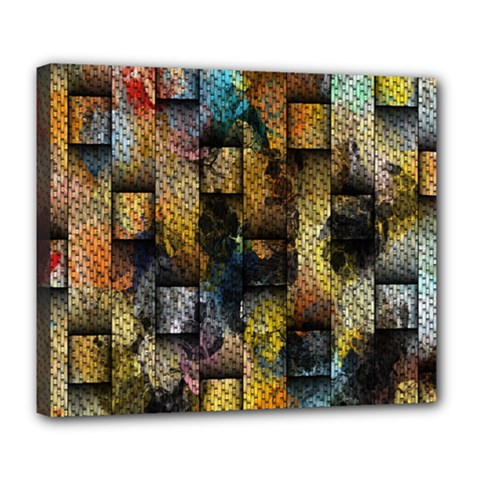 Fabric Weave Deluxe Canvas 24  X 20