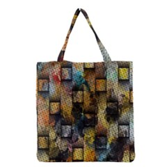 Fabric Weave Grocery Tote Bag