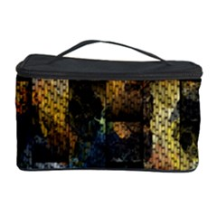Fabric Weave Cosmetic Storage Case