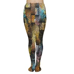 Fabric Weave Women s Tights