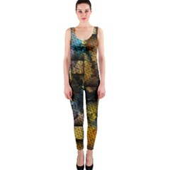 Fabric Weave OnePiece Catsuit