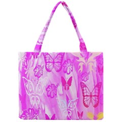 Butterfly Cut Out Pattern Colorful Colors Mini Tote Bag