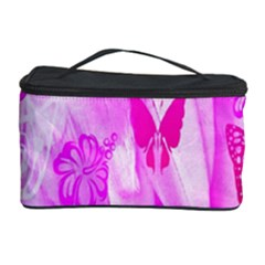 Butterfly Cut Out Pattern Colorful Colors Cosmetic Storage Case