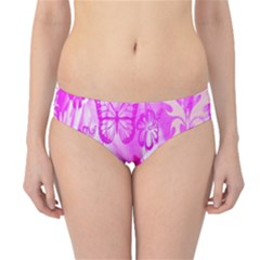 Butterfly Cut Out Pattern Colorful Colors Hipster Bikini Bottoms