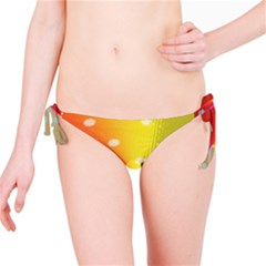 Polka Dots Pattern Colorful Colors Bikini Bottom