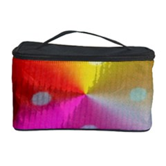 Polka Dots Pattern Colorful Colors Cosmetic Storage Case