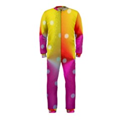 Polka Dots Pattern Colorful Colors OnePiece Jumpsuit (Kids)