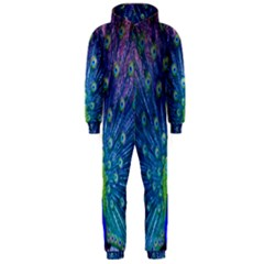 Amazing Peacock Hooded Jumpsuit (Men)
