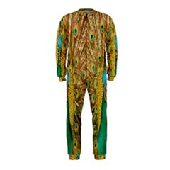 Peacock Bird Feathers Onepiece Jumpsuit (kids)