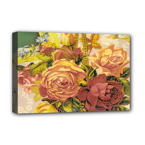 Victorian Background Deluxe Canvas 18  X 12