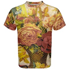 Victorian Background Men s Cotton Tee