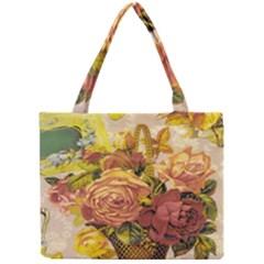 Victorian Background Mini Tote Bag