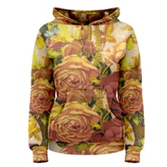 Victorian Background Women s Pullover Hoodie
