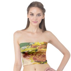 Victorian Background Tube Top