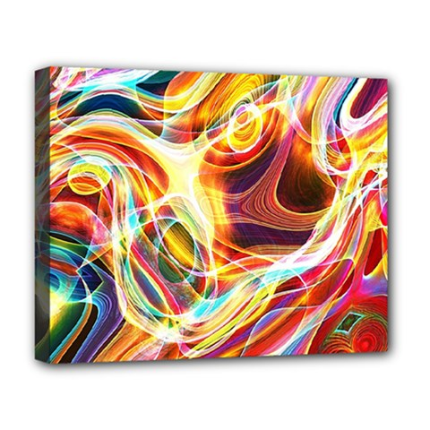 Colourful Abstract Background Design Deluxe Canvas 20  X 16