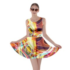 Colourful Abstract Background Design Skater Dress