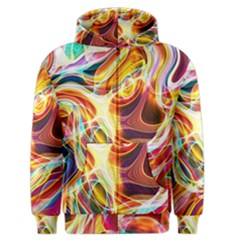 Colourful Abstract Background Design Men s Zipper Hoodie