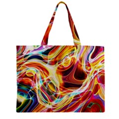 Colourful Abstract Background Design Zipper Mini Tote Bag