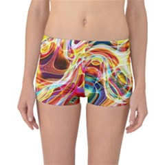 Colourful Abstract Background Design Reversible Bikini Bottoms