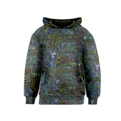 Stone Paints Texture Pattern Kids  Pullover Hoodie