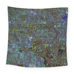 Stone Paints Texture Pattern Square Tapestry (large)