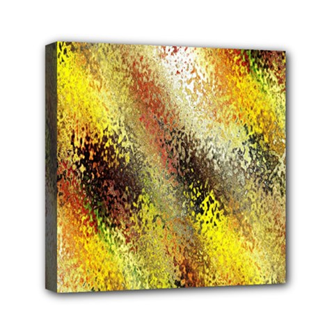 Multi Colored Seamless Abstract Background Mini Canvas 6  X 6
